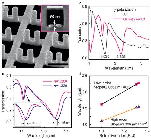 物理所在三维纳米结构的加工与应用研究中取得进展