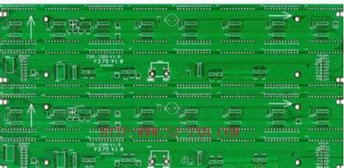 led在电路板上d的正负极pcb图